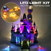 Updated/Ordinary LED Light Kit ONLY For Lego 71040 Disney Castle Bricks Toys