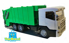 DIE CAST TRUCK model 1:32 SCALE SCANIA R124/400 Garbage Truck 35 CM LENGTH SEMI