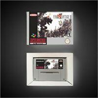 FINAL FANTASY VI 6 - EUR pal Version SNES SUPER NINTENDO BOX
