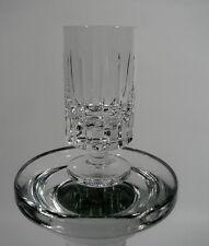 Stamper Pinnchen Schnapsglas Kristall geschliffen Handarbeit Vintage 1980