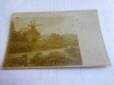 ( Great Ellingham Windmill ) - Old ( Norfolk ) Postcard