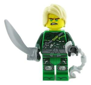 LEGO® Ninjago - Lloyd Hunted from 70651 with weapons