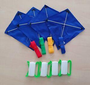 Flugdrachen für Kinder mit 80m langer Schnur - spielend LERNEN Spielzeug