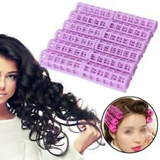 12 Pcs DIY Hair Salon Curlers Rollers Tool Soft Small Hairdressing Tools Plastic