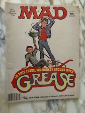 Vintage MAD Comic Humor Magazine #205 March 1970 Grease