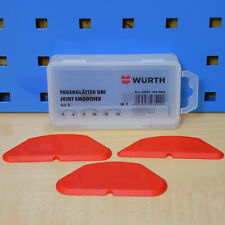 Würth Fugues Lisses Set 3 Pièce Silicone Acrylique Pullers Fugenabzieher Joints