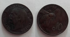 Vittorio Emanuele III  (1901-1943) 10 Cent Ape 1928