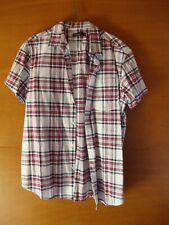 Cedar Wood State Checked Short Sleeved Shirt Size M *Being Sold For Charity*