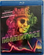 INHERENT VICE BLU RAY DVD 2 DISC SET FREE WORLD WIDE SHIPPING BUYT IT NOW DRAMA