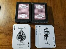 Vintage Las Vegas Four Queens Hotel & Casino Deck of Playing Cards w/Building