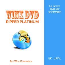 WinX DVD Ripper Platinum | Lifetime Free Upgrade | Authorised Reseller