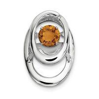 .925 Sterling Silver /& Gold Tone 21 mm Ovale Ange gardien avec sentiment Médaillon