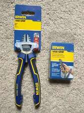 IRWIN Visegrip 6-Inch High Leverage Diagonal Cutting Pliers with Lanyard