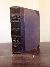 HISTOIRE DE SAINT IGNACE DE LOYOLA By J.M.S. Daurignac - 1878, Catholic, leather