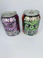 Jones Soda 2013 Halloween Monster Mini Cans Rare!Unopened