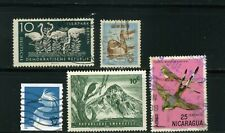BIRDS OF GERMANY, U.S.A.-- RWANDA,- JAPAN,-NICARAGUA. >>    LOT OF 5