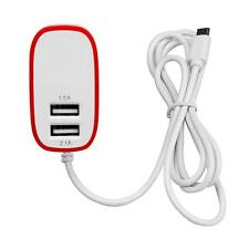 3.1A Triple 2Port Micro USB Port Wall Home Travel AC Charger Adapter For S7 EU X