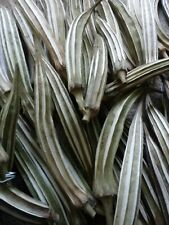 Hand dried Okra Pods Untreated for Arts and Crafts Good Quality Various Sizes