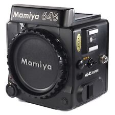 Mamiya M645 Super Body Only / 6x4.5 Medium Format Film SLR Camera (204430)