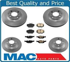 100% New Front & Rear Disc Brake Rotors & Pads 6pc Kit for Saab 900 1988-1993