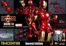 Ready! Hot Toys Sideshow Iron Man Mark 3 III Diecast 1/6 Normal Edition