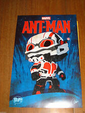 MARVEL ANTMAN COLLECTORS CORP FUNKO POSTER LIMITED EDITION COMIKAZE RARE 11X17