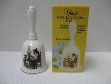 Norman Rockwell Collector'S Bell ~ For A Good Boy ~ Norman Rockwell Museum 1986