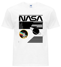 T-shirt Maglietta Unisex cotone inspired by NASA Shuttle APOLLO 11 Space Moon