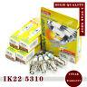 4 Denso Iridium IK22 5310 Spark Plug for Nissan Ford Audi Volvo Renault VW Power