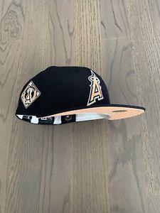 Exclusive New Era Los Angeles / Anaheim Angels MLB club Hat Peach UV 7 1/8