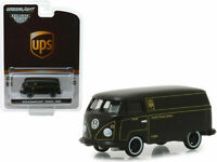 UPS Volkswagen Type 2 Panel Van GREENLIGHT DIECAST 1:64