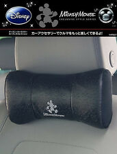 New Mickey Mouse Head Neck Rest Cushions Memory Foam Pillow Car Accessories 1pc