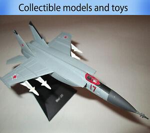 Mikoyan MiG-25 model airplane, Deagostini (cast) legendary aircraft USSR