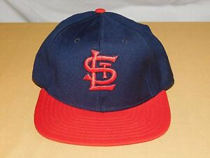 VINTAGE OLD BASEBALL HAT CAP ST LOUIS CARDINALS  NEW ERA PRO MODEL WOOL NEW NOS