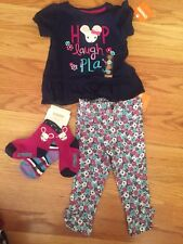 Gymboree Baby Girl Size 12-18m Mouse Theme Outfit Lot Of 4 Pieces NWT