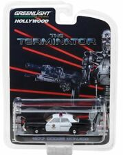 The Terminator - POLICE Dodge Monaco Metropolitan 1977 *RR* Greenlight 1:64 NEU