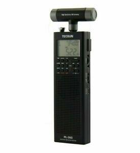 TECSUN PL360 PLL DSP Radio AM/FM / MW / LW / SW BLACK