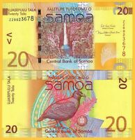 Samoa 20 Tala p-40cr 2017 Replacement UNC Banknote