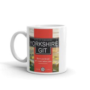 Yorkshire Git Coffee Tea Cup Cafe Mug Gift