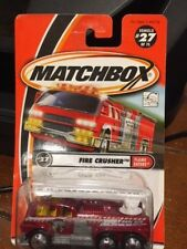 2001 Matchbox Flame Eaters Fire Crusher #27