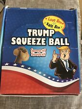 Trump stress squeeze balls you love him or hate him 12 in a box big seller!