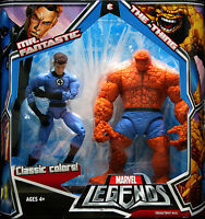 Marvel Legends Mr Fantastic and Thing (Classic Colours) Twin Pack