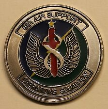 8th ASOS Aviano TACP JFAC Death on Call Air Force Challenge Coin
