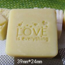 Love Heart Soap Stamp For Handmade Soap Candle Candy Stamp Fimo Stamp