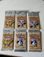 Pokemon Fossil Long Booster Pack- Factory Sealed!!..One Pack