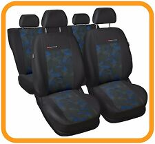 VW PASSAT ESTATE B5  TAILORED SEAT COVERS  FULL SET   grey/blue (125)