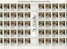 Falkland Deps (2367) - 1982 DIANA perf variety complete sheet unmounted mint