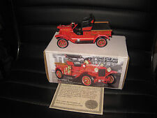 1/32 1922 FORD FIRE CHIEF RUNABOUT FIRE ENGINE NATIONAL MOTOR MUSEUM MINT