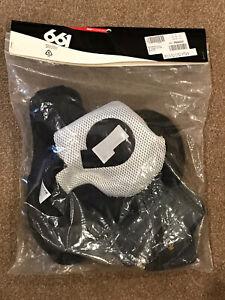 661 - SixSixOne Reset Helmet Liner SIZE - XXS - EXTRA EXTRA SMALL - BLACK