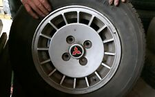 80S MITSUBISHI COLT SAPPORO/LANCER/STARION/GALANT CLASSIC CAR ALLOY WHEELS/TYRES